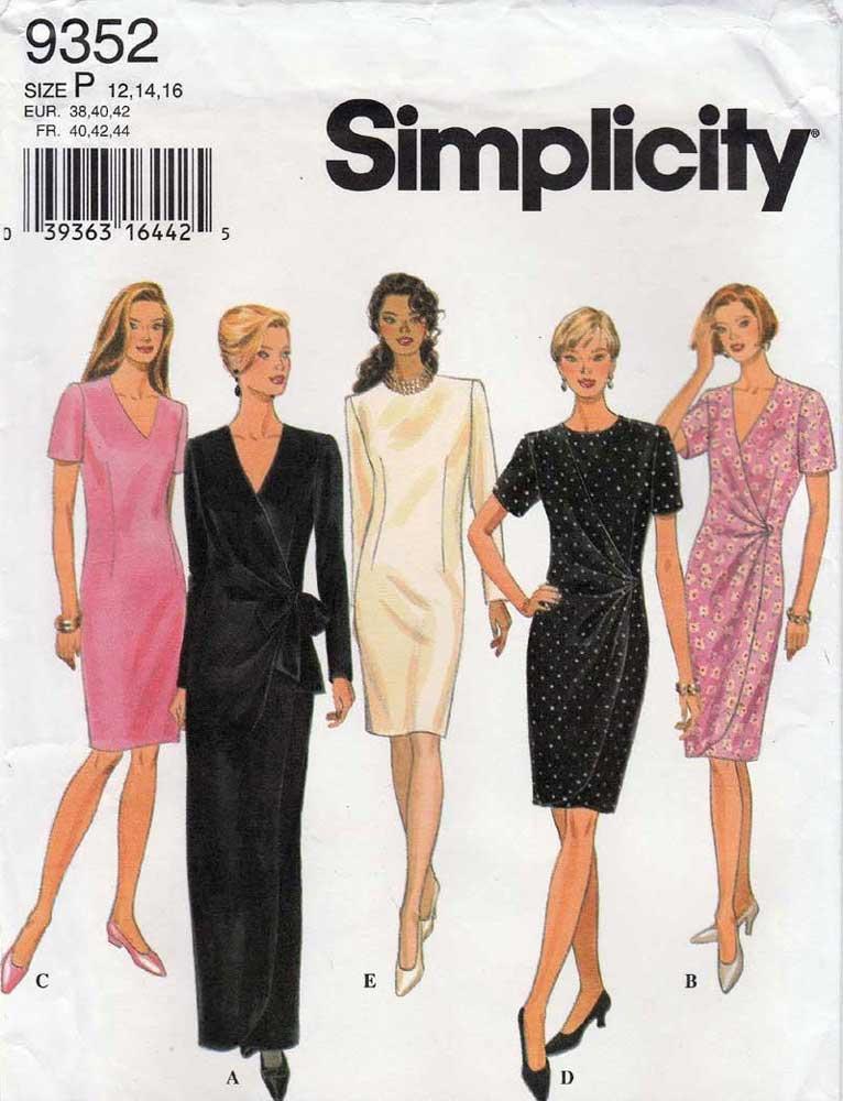 Simplicity 9352 B
