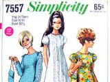 Simplicity 7557 A