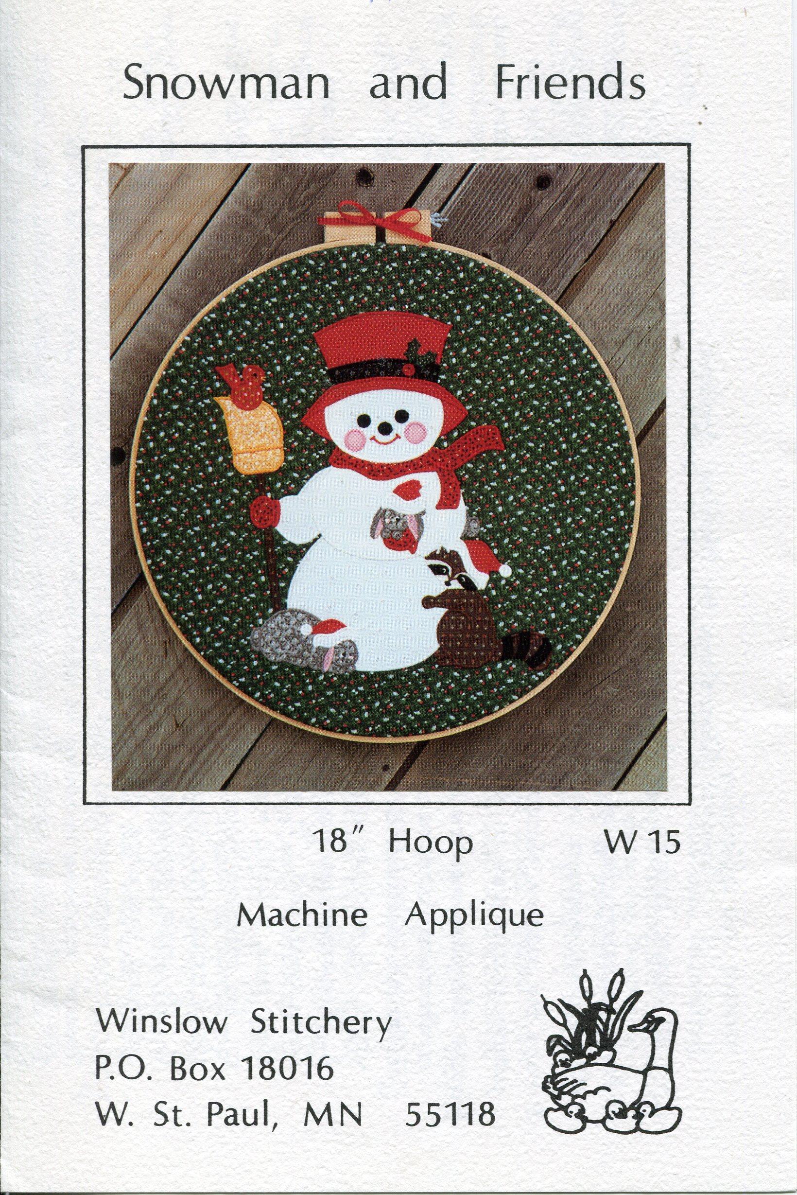 Winslow Stitchery W15