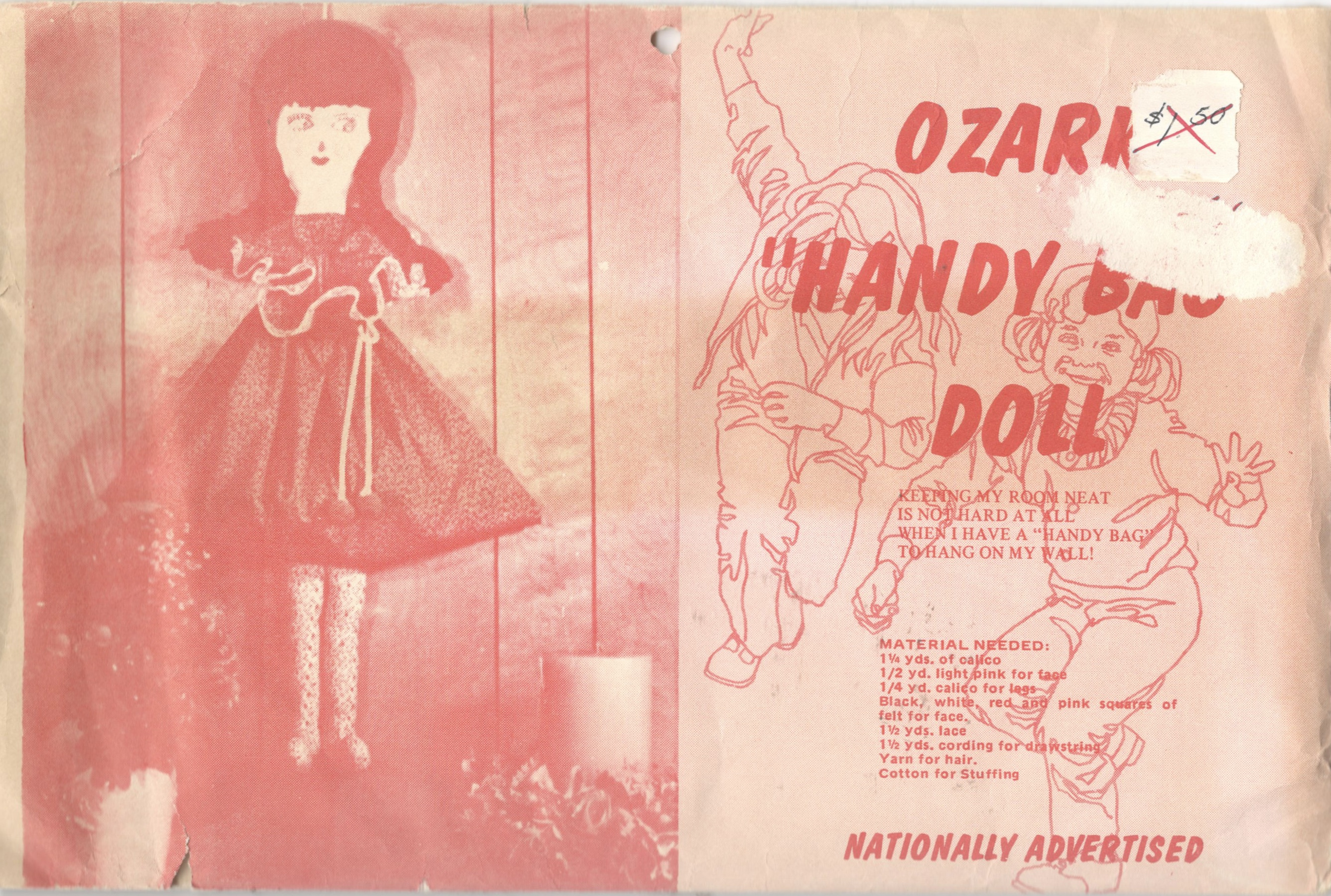 Ozark Handy Bag Doll