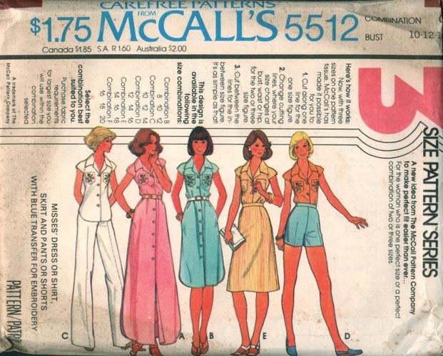 McCall's 5512
