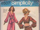 Simplicity 8507 A