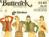Butterick 5140 A
