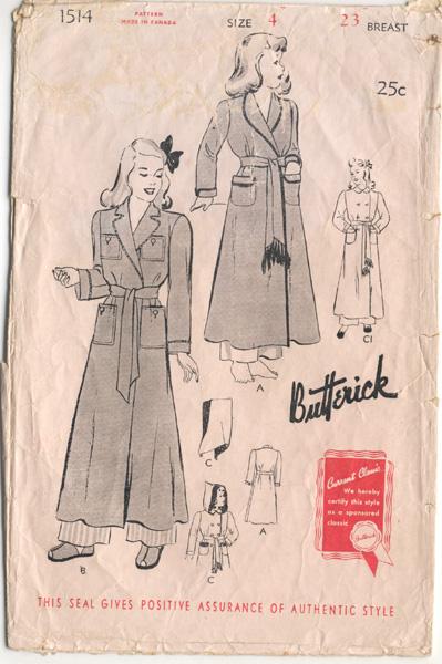Butterick 1514