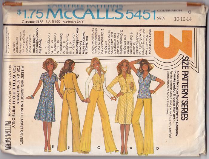 McCall's 5451 A