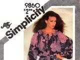 Simplicity 9860 A