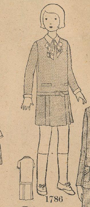 Butterick 1786 A