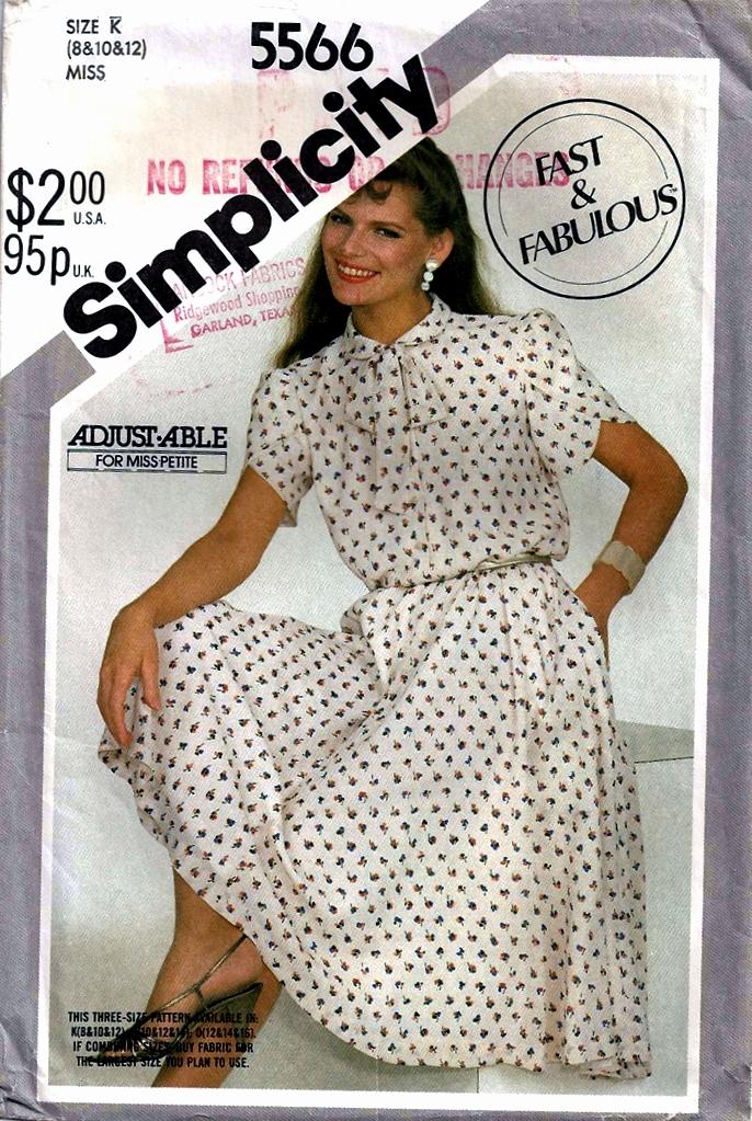 Simplicity 5566 B