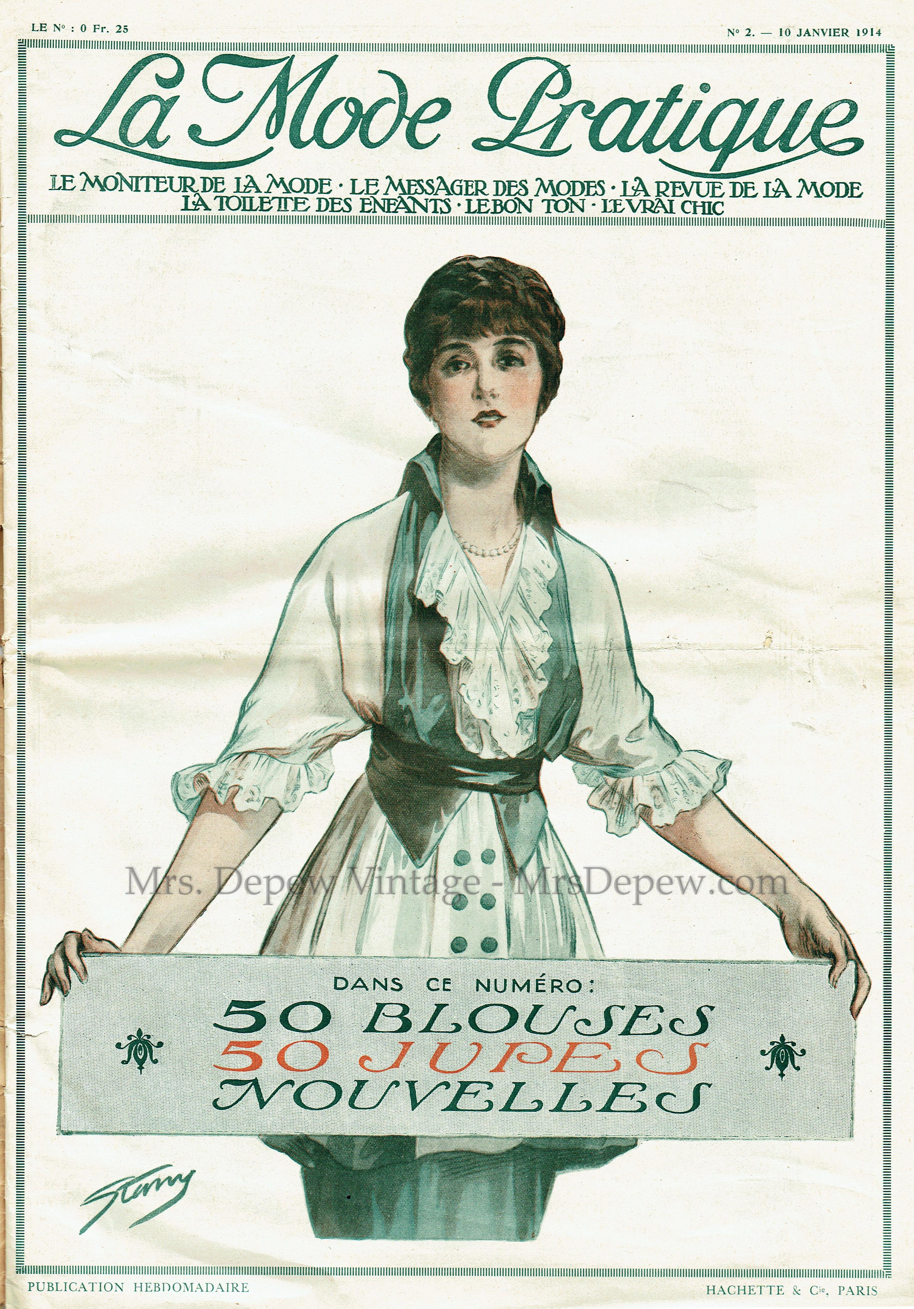 La Mode Pratique No. 2 10 Janvier 1914