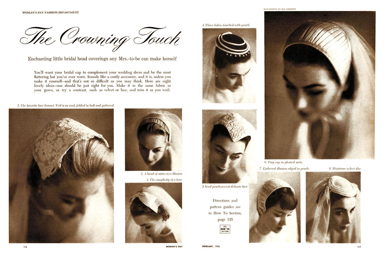Woman's Day Bridal Veils