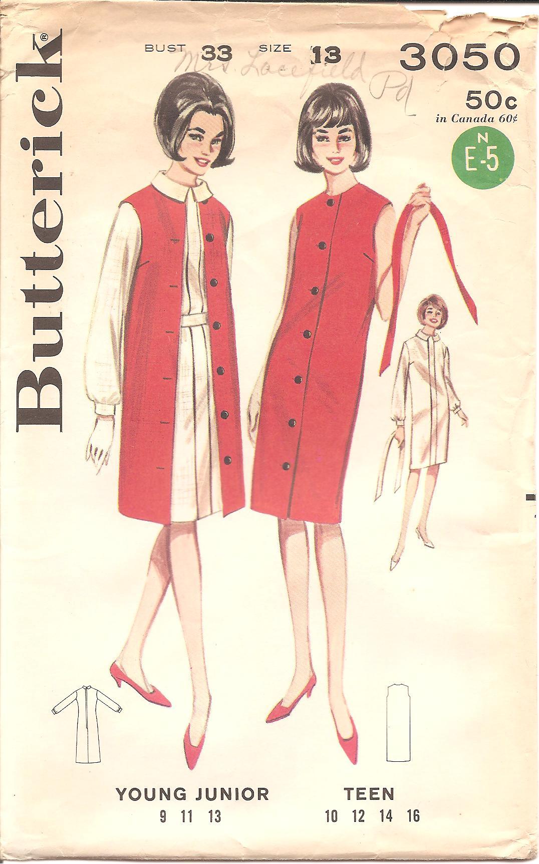 Butterick 3050 B