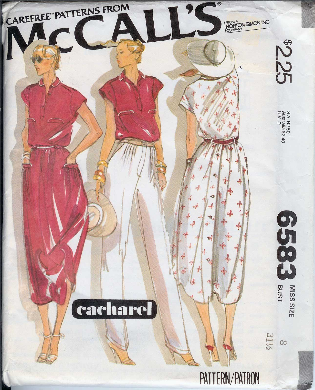 McCall's 6583 A