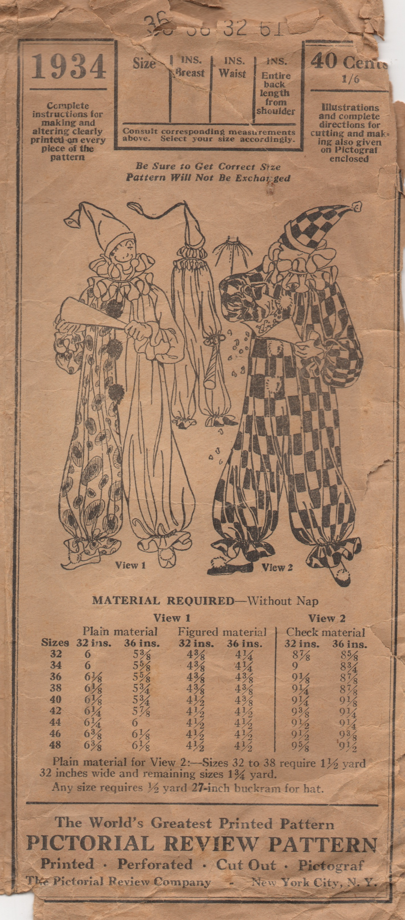 Pictorial Review 1934