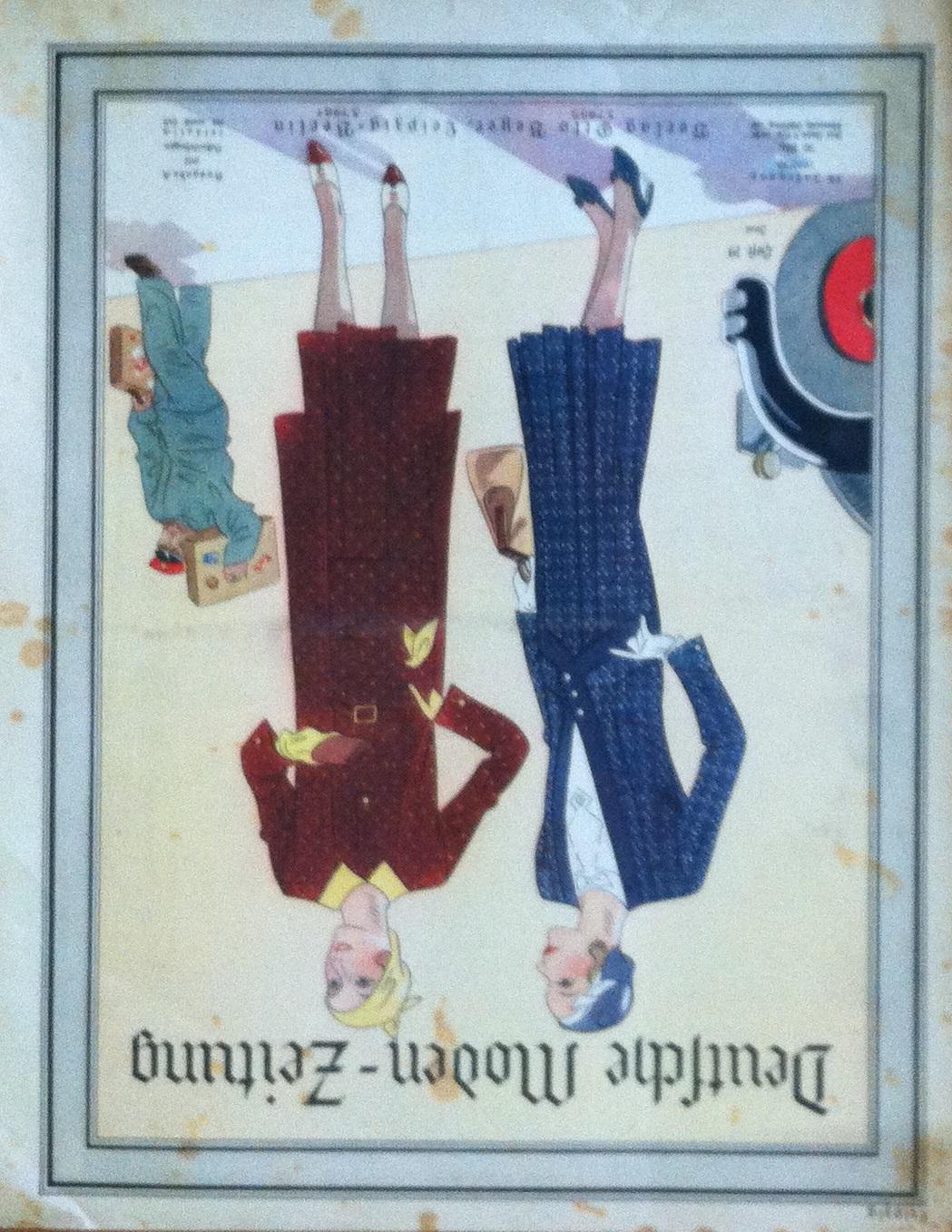 Deutsche Moden-Zeitung No. 19 Vol. 39 1929/30