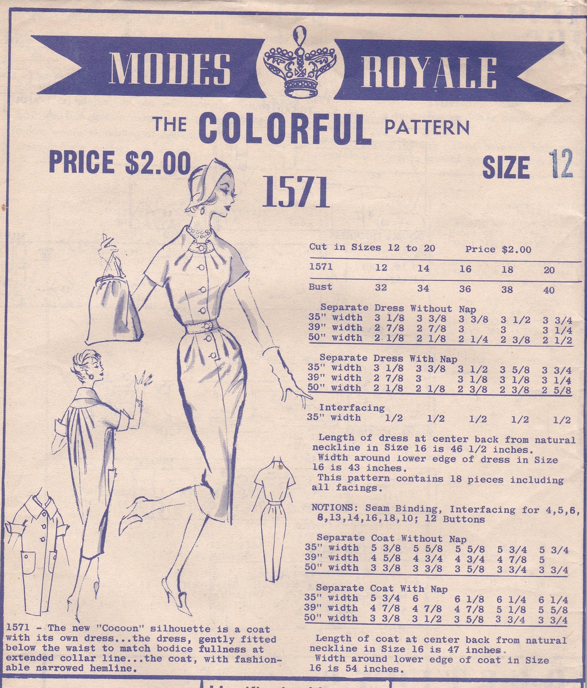 Modes Royale 1571
