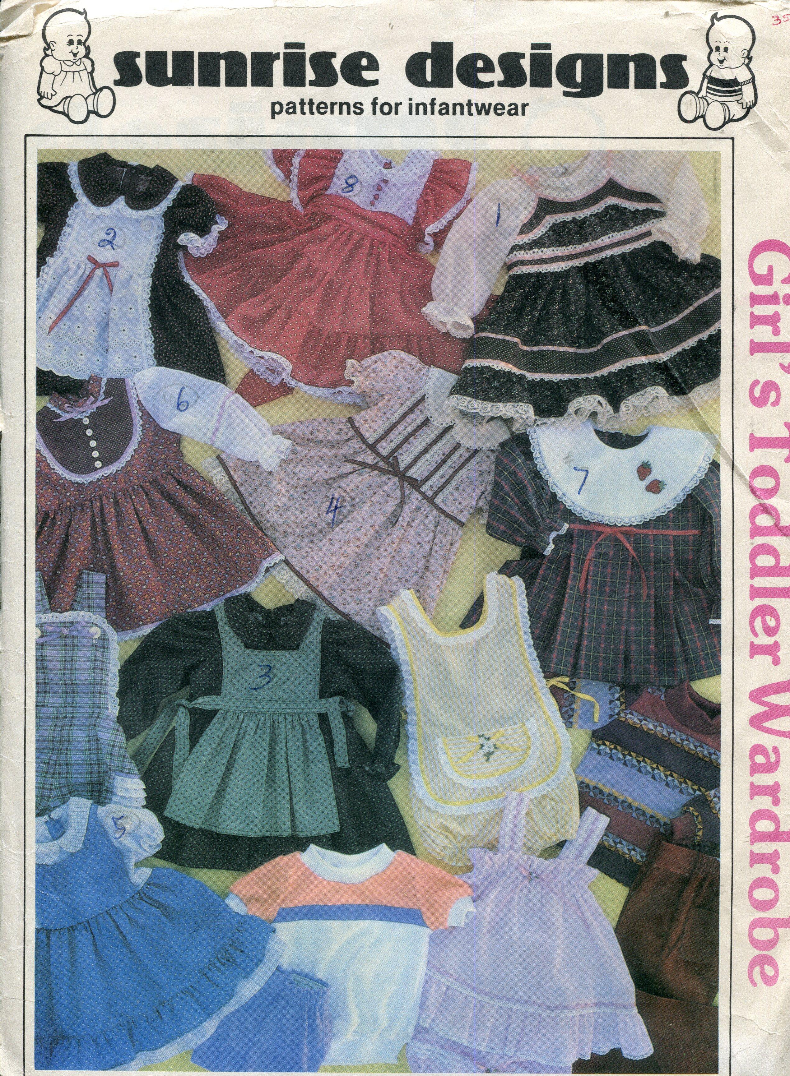 Sunrise Designs Girls' Toddler Wardrobe
