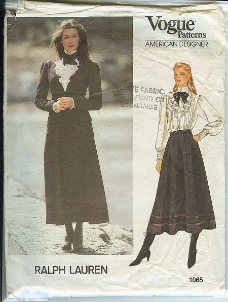 Vogue American Designer Ralph Lauren