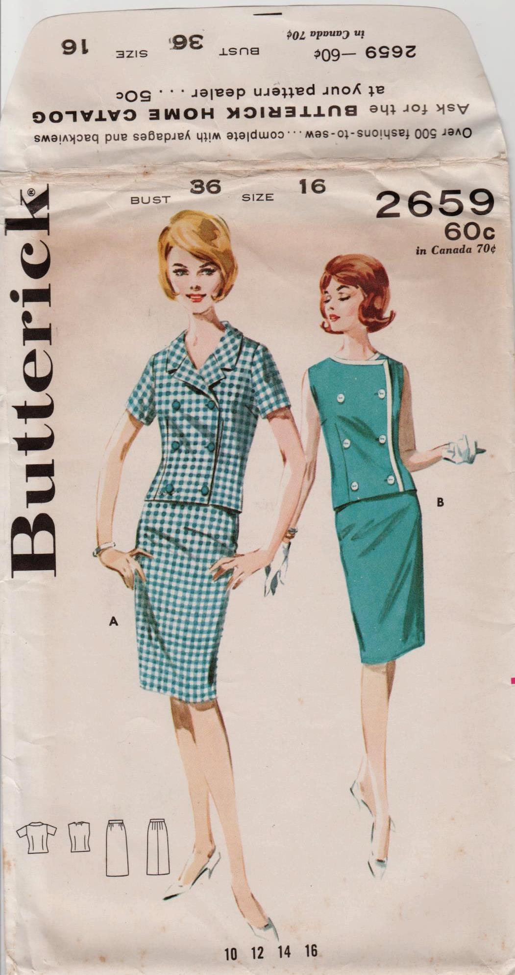Butterick 2659 A