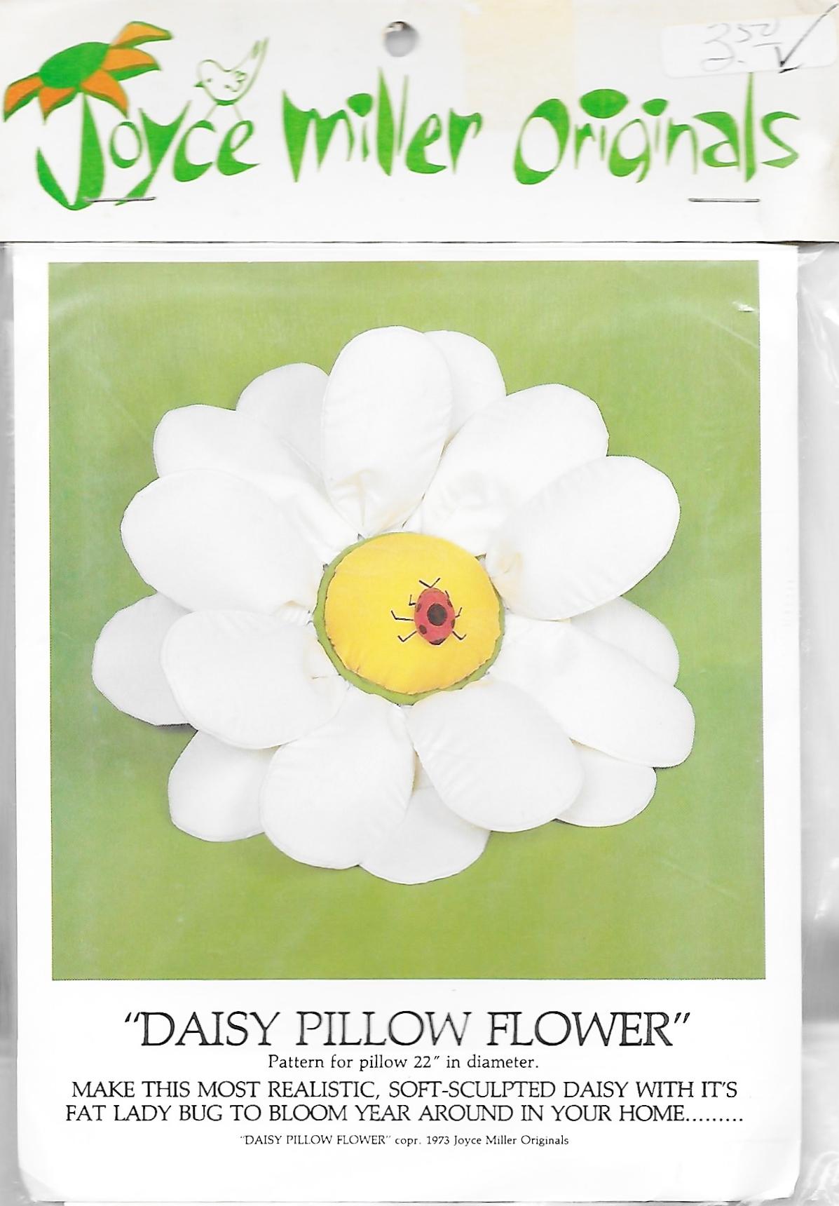 Joyce Miller Originals Daisy Pillow Flower
