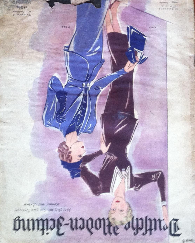 Deutsche Moden-Zeitung No. 5 Vol. 46 1936