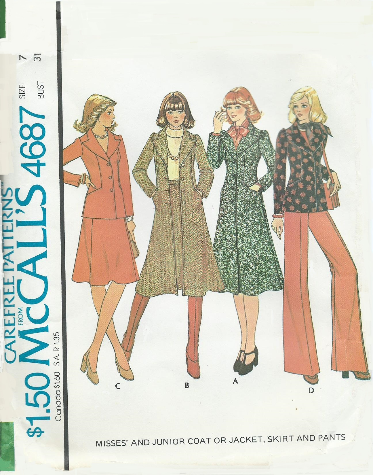McCall's 4687 A