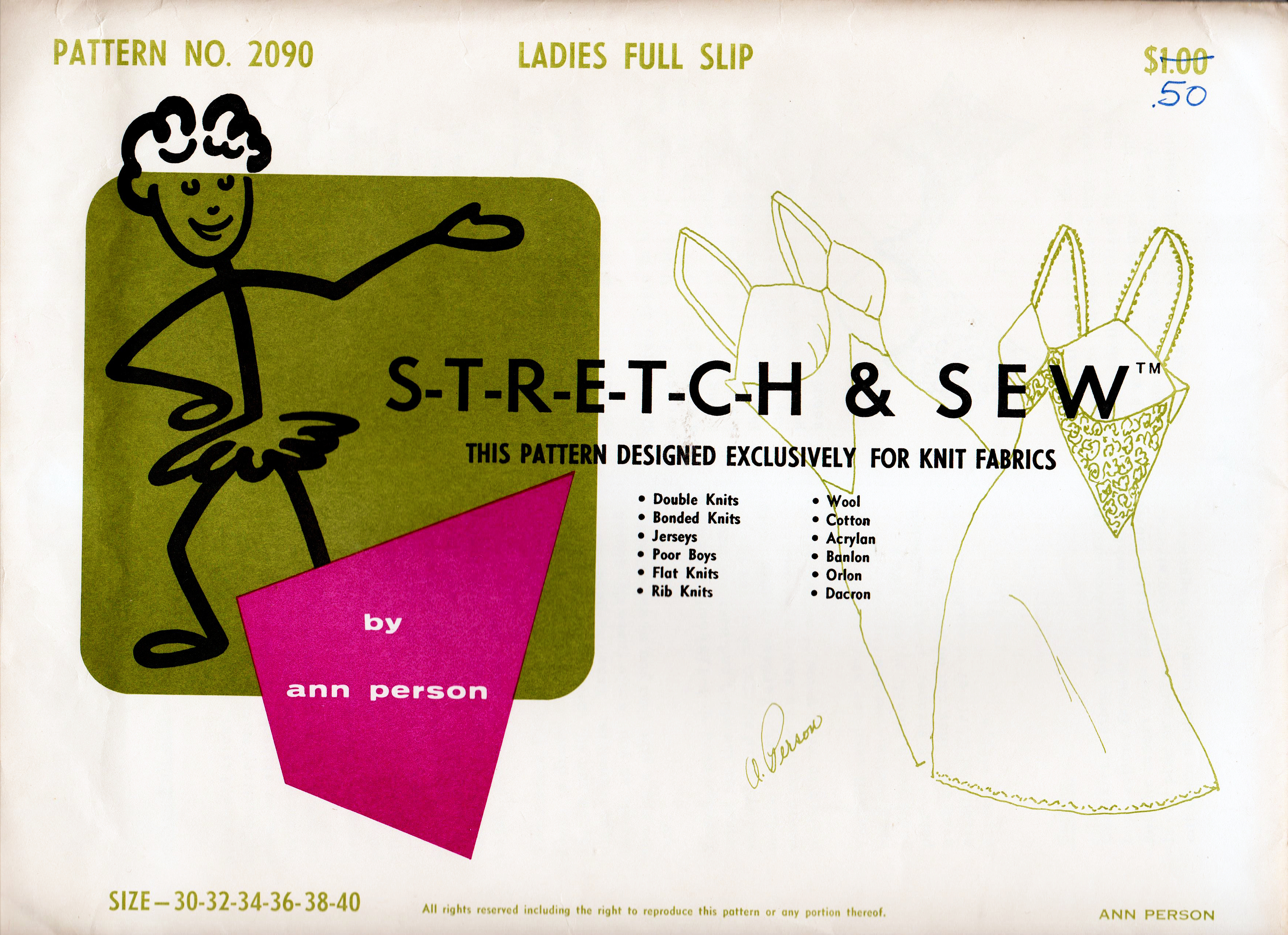 Stretch & Sew 2090 A