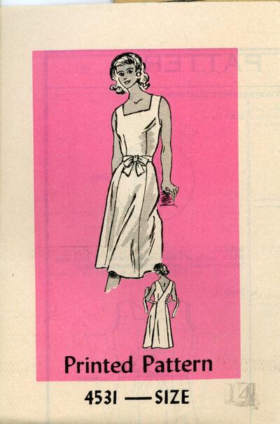 Anne Adams 4531 A Misses Wrap Dress