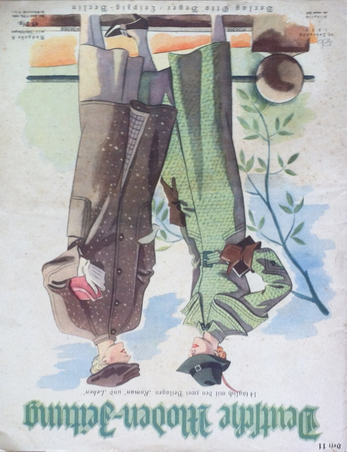 Deutsche Moden-Zeitung No. 11 Vol. 44 1935