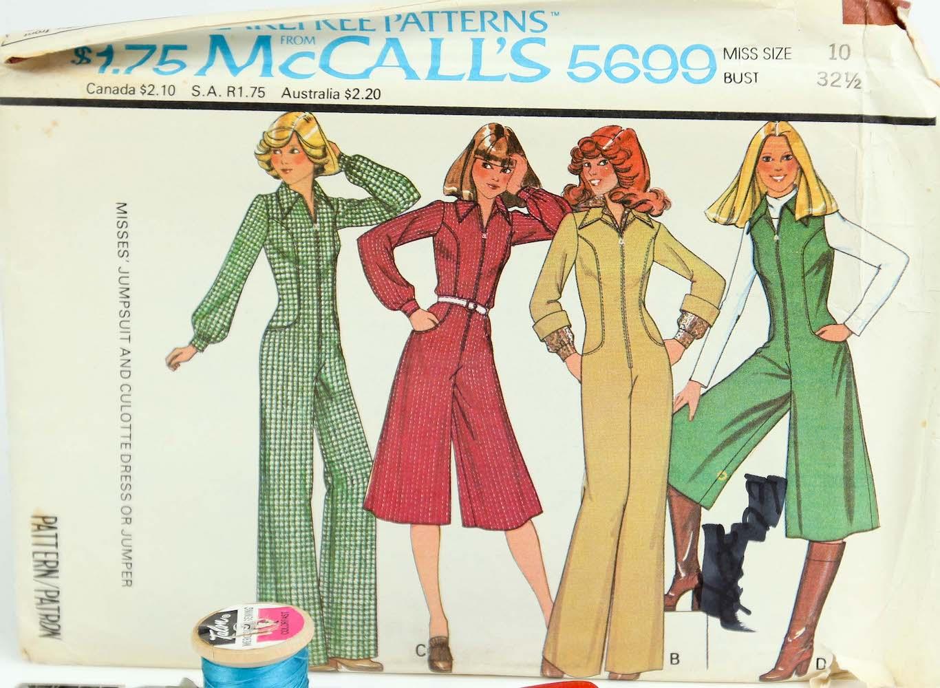 McCall's 5699 A