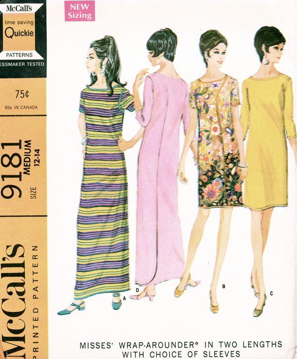 McCall's 9181 A