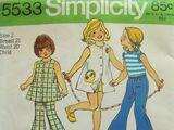 Simplicity 5533 A