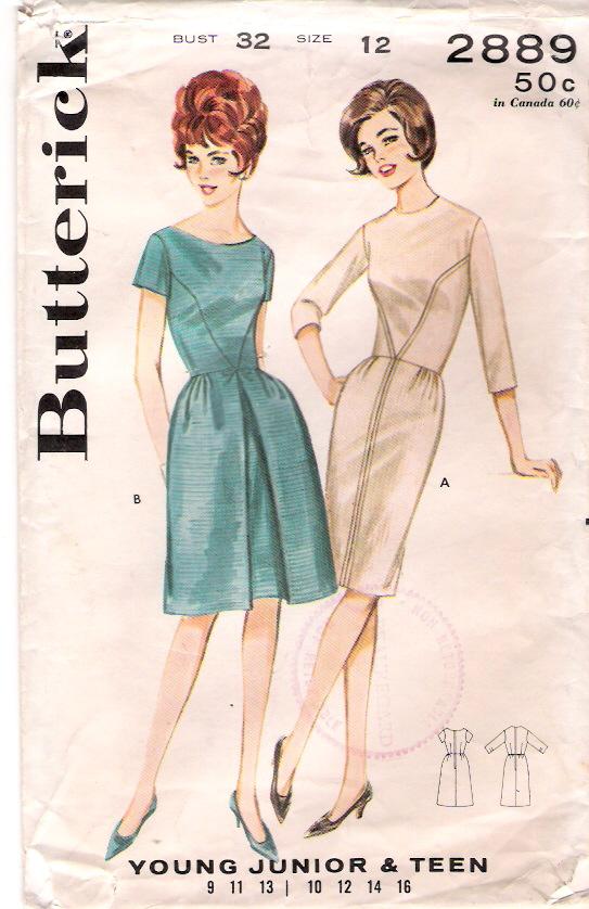 Butterick 2889