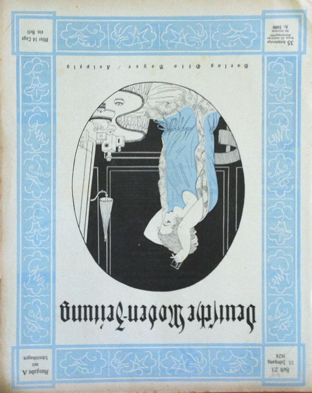Deutsche Moden-Zeitung No. 23 Vol. 33 1924