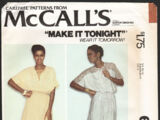 McCall's 6593 A