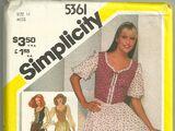 Simplicity 5361 A