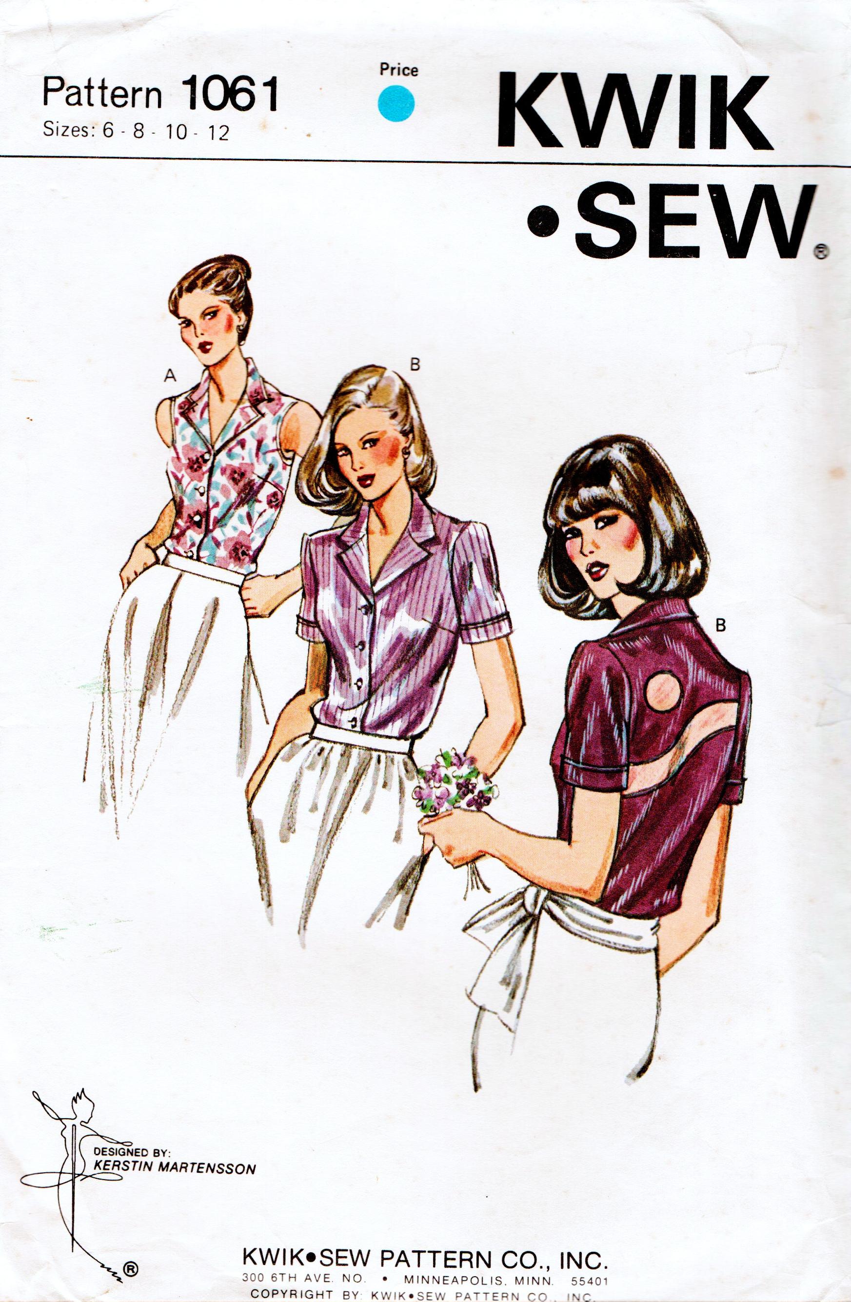 Kwik Sew 1061