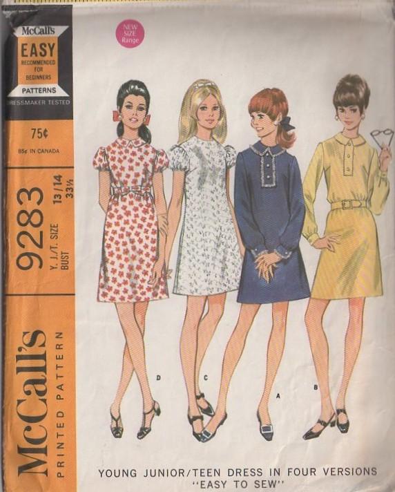 McCall's 9283 A