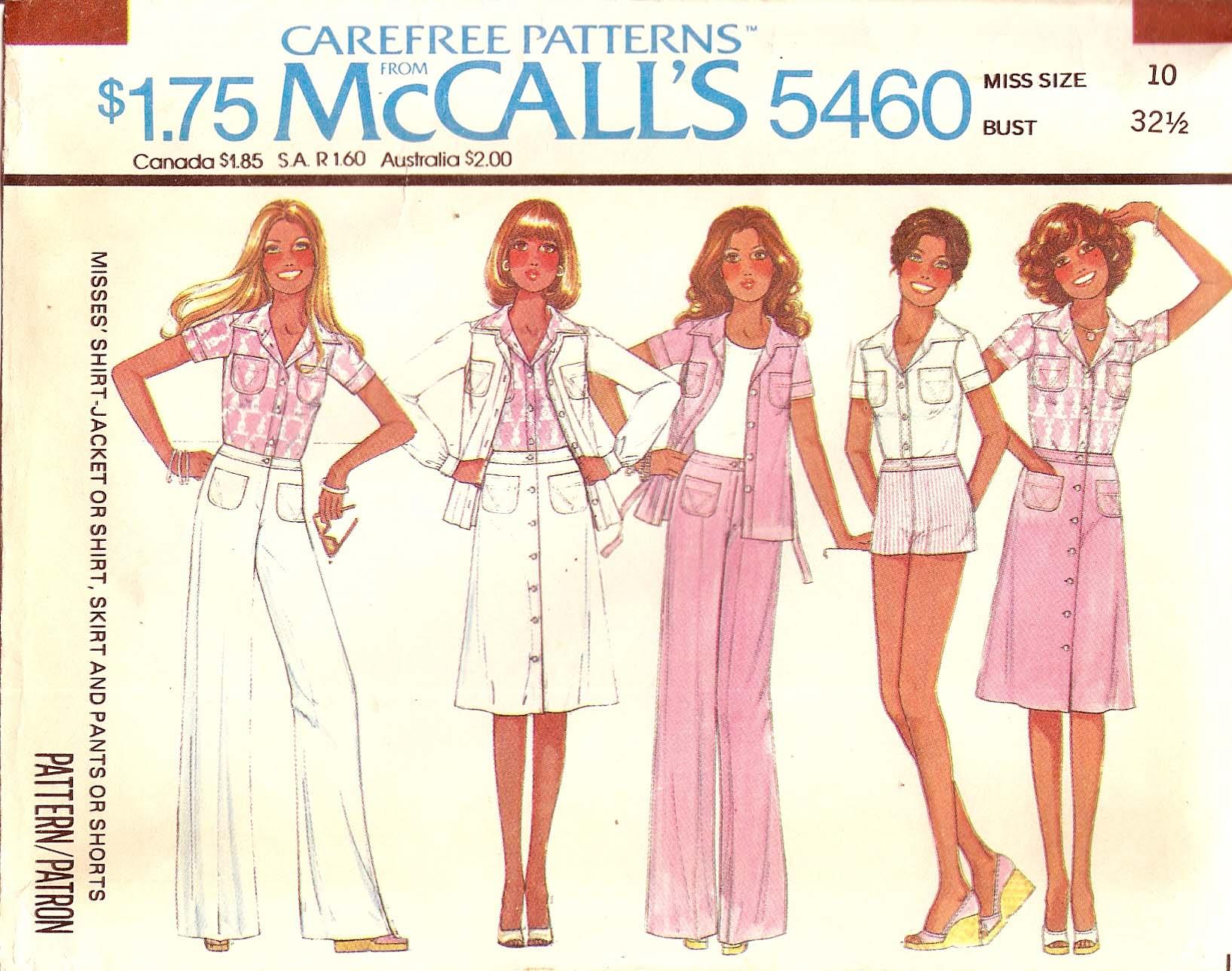 McCall's 5460 A