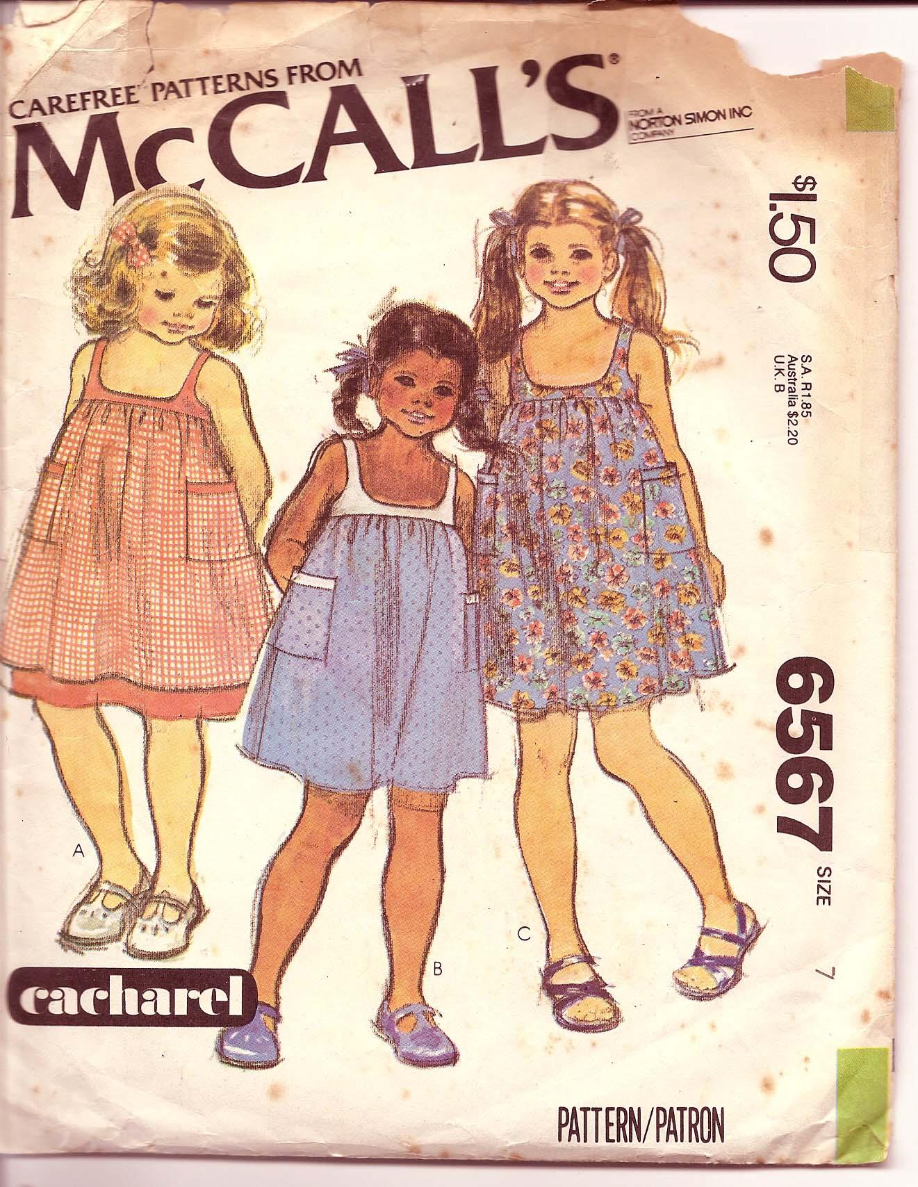 McCall's 6567 A