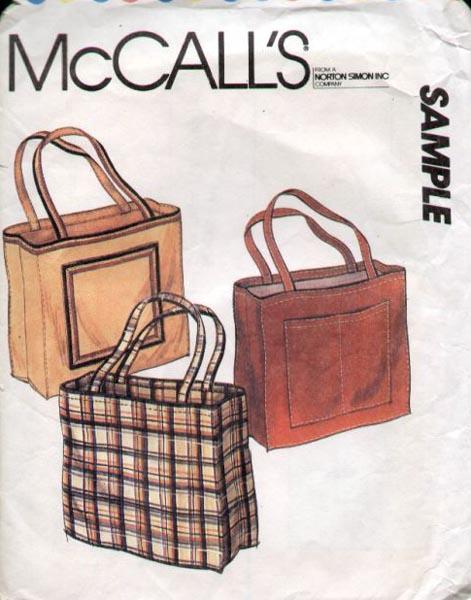 McCall's Sample Tote