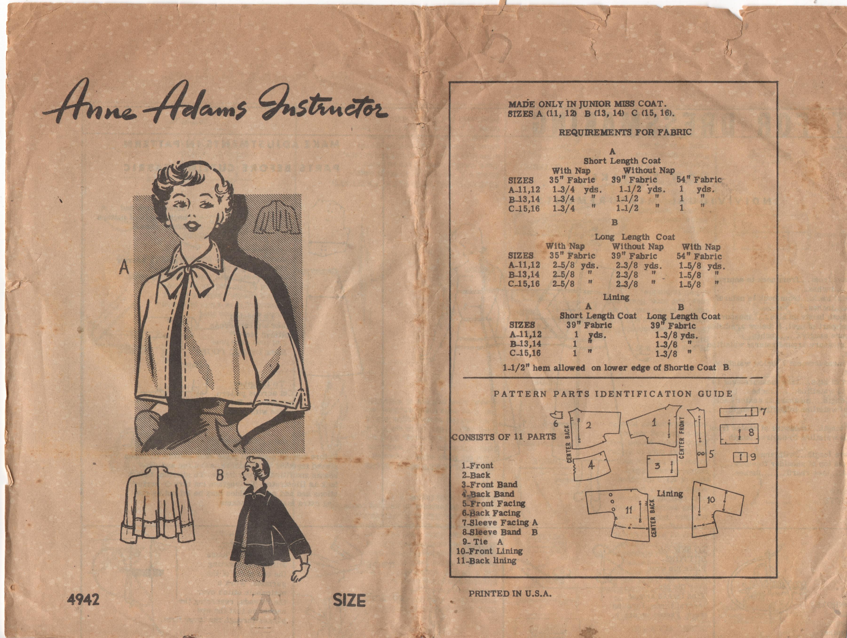 Anne Adams 4942 B