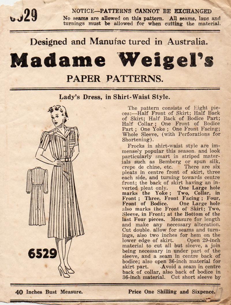 Madame Weigel's 6529