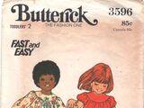 Butterick 3596 A