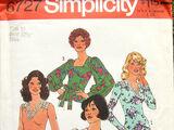 Simplicity 6727
