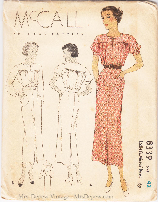 McCall 8339 A