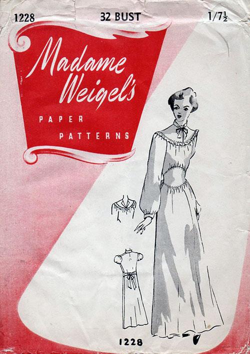Madame Weigel's 1228