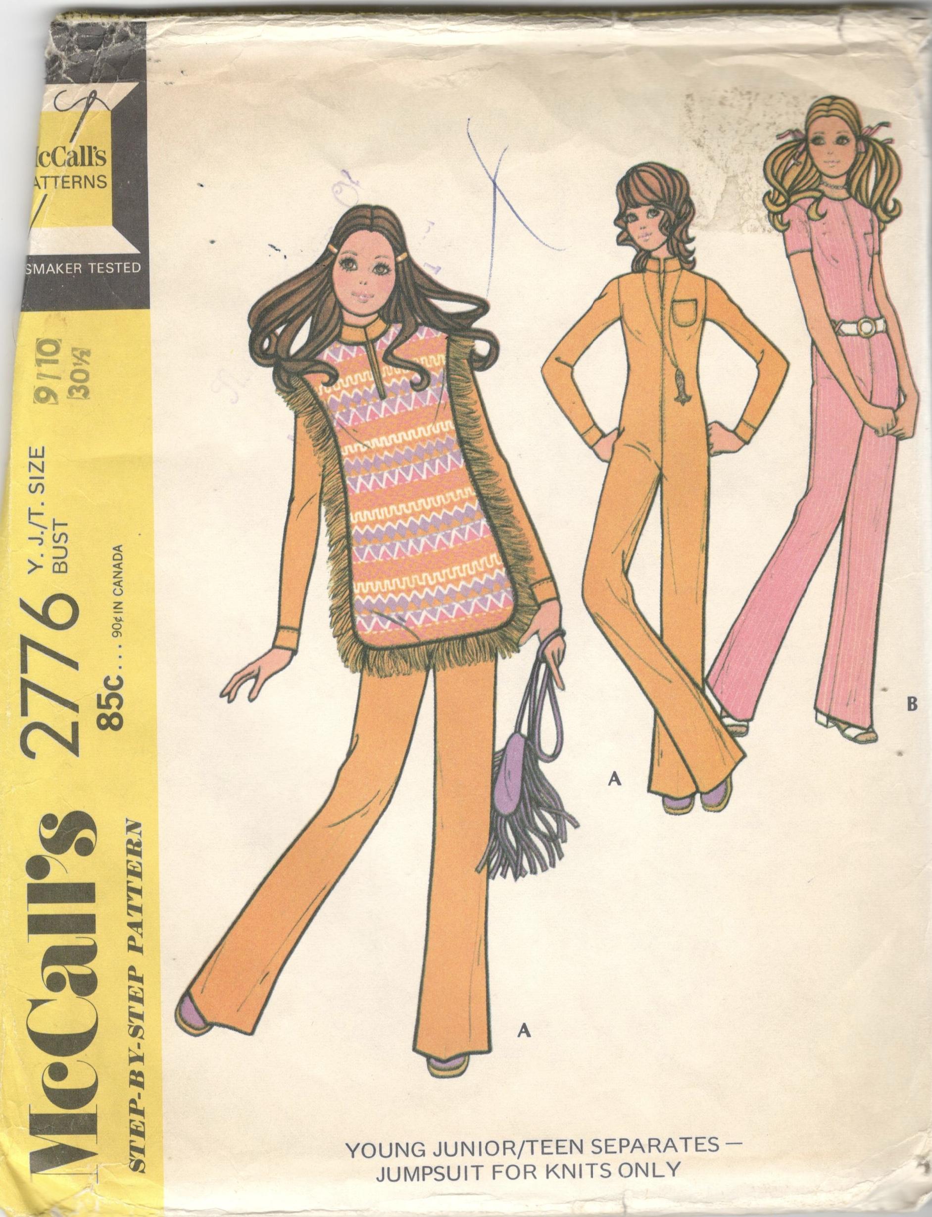 McCall's 2776 A
