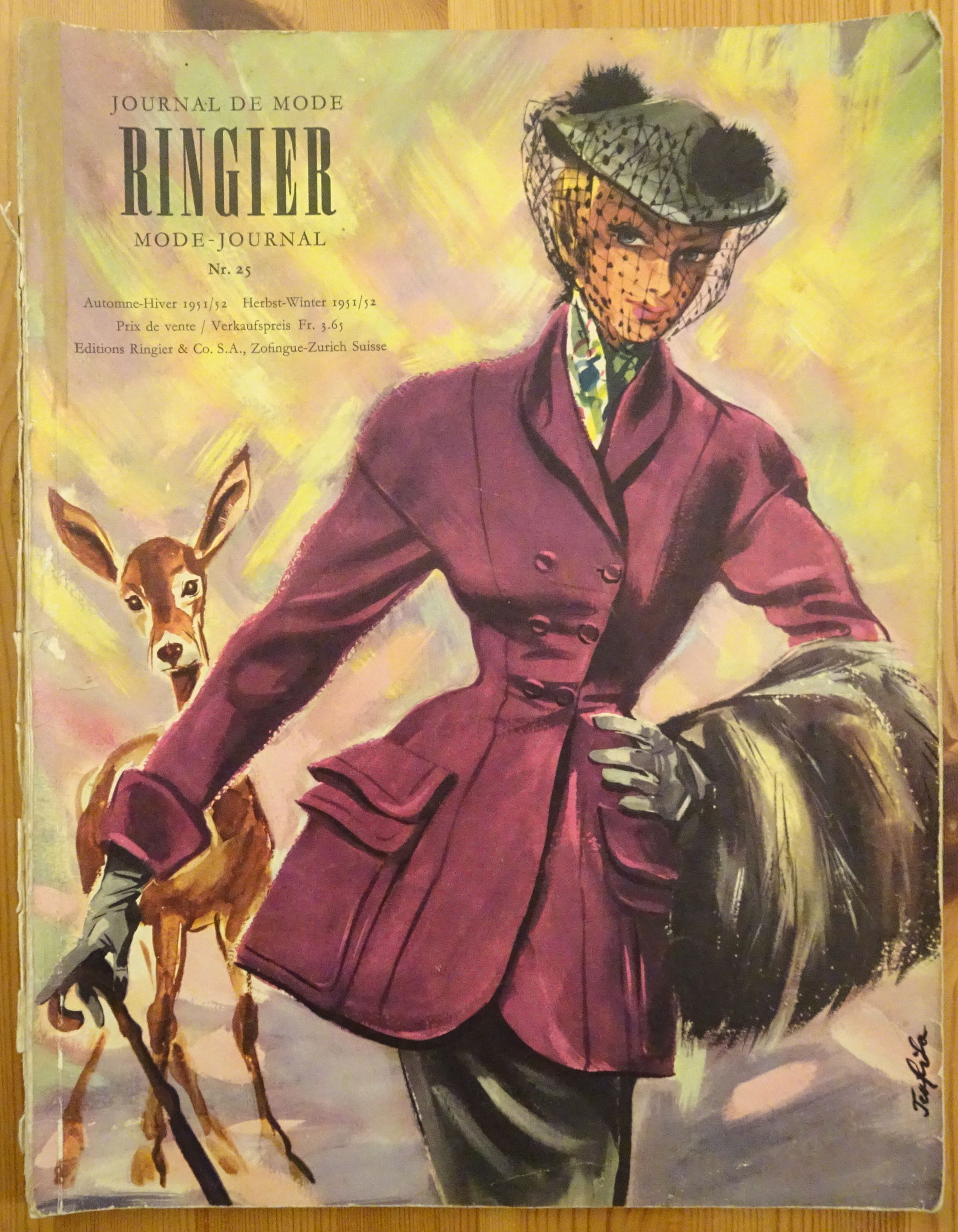 Ringier Journal de Mode Autumn/Winter 1951/52