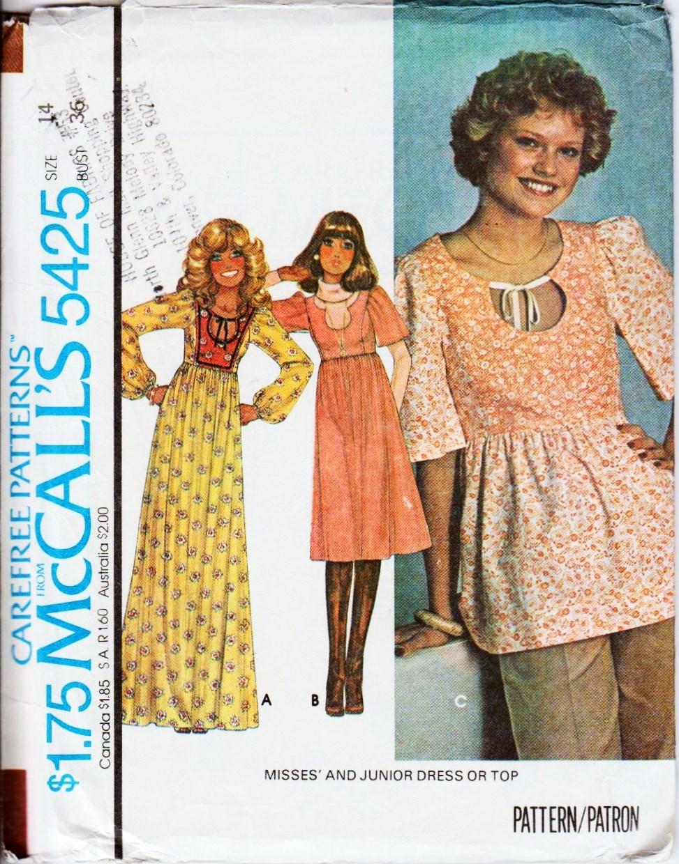 McCall's 5425 A