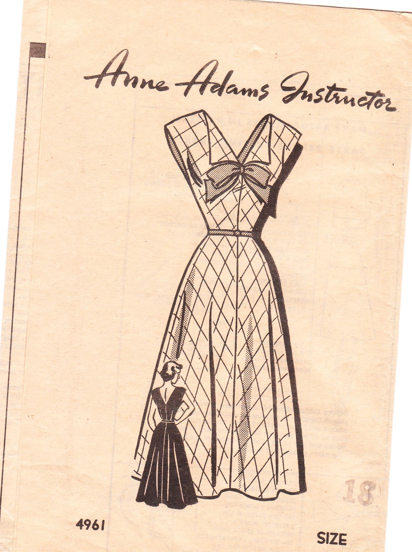 Anne Adams 4961 A